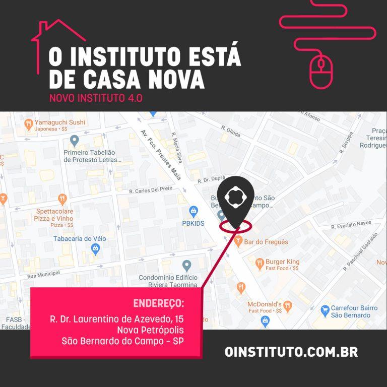 Endereço do Instituto